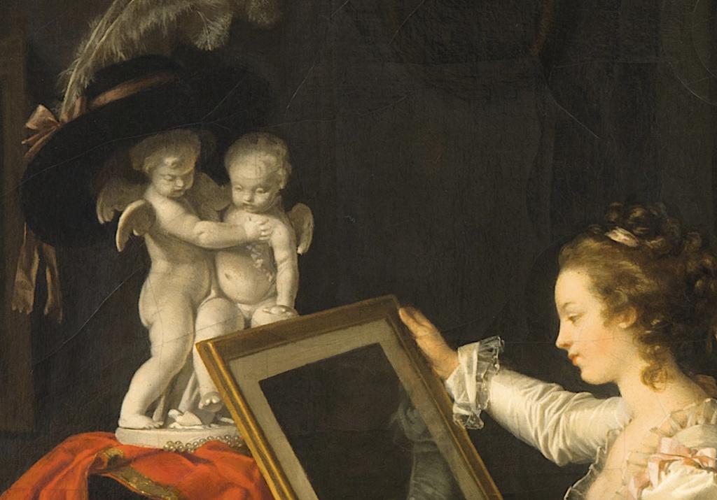 Gérard - L'artiste peintre Marguerite Gérard Capt1618