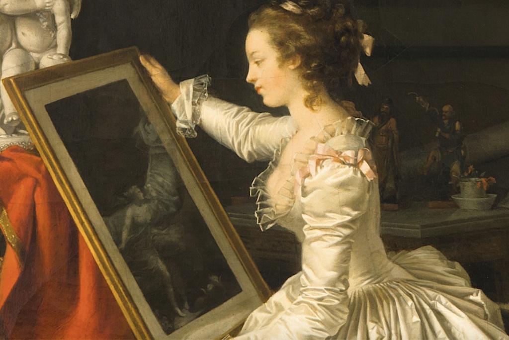 Gérard - L'artiste peintre Marguerite Gérard Capt1619