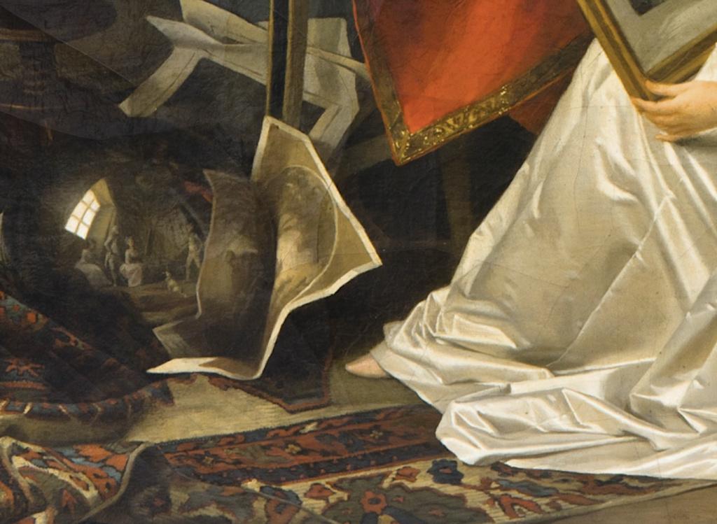 Gérard - L'artiste peintre Marguerite Gérard Capt1620