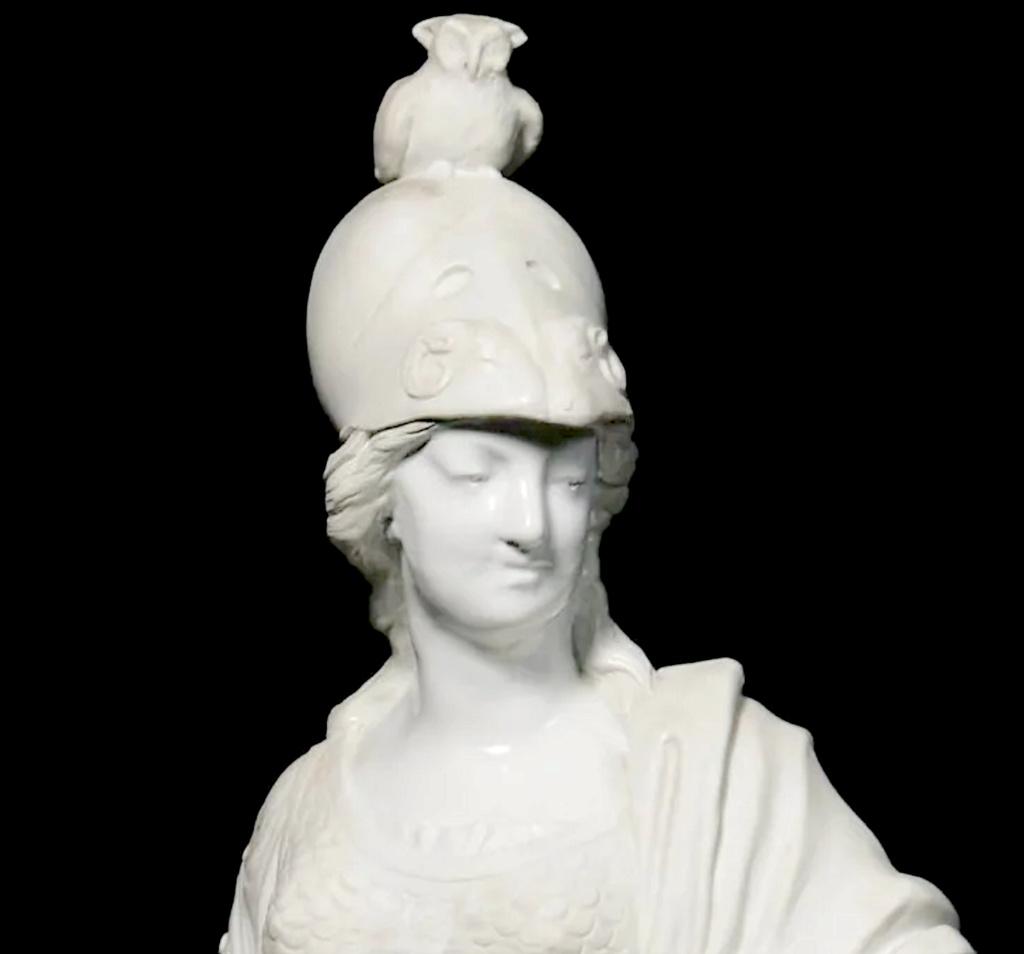 Marie-Antoinette en Minerve, par Josse-François-Joseph Le Riche  Capt1628