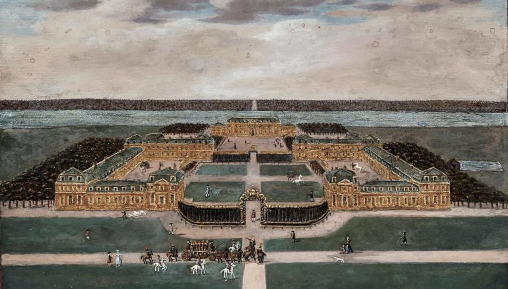 Saint-Hubert, château royal délaissé par Louis XVI Capt1635