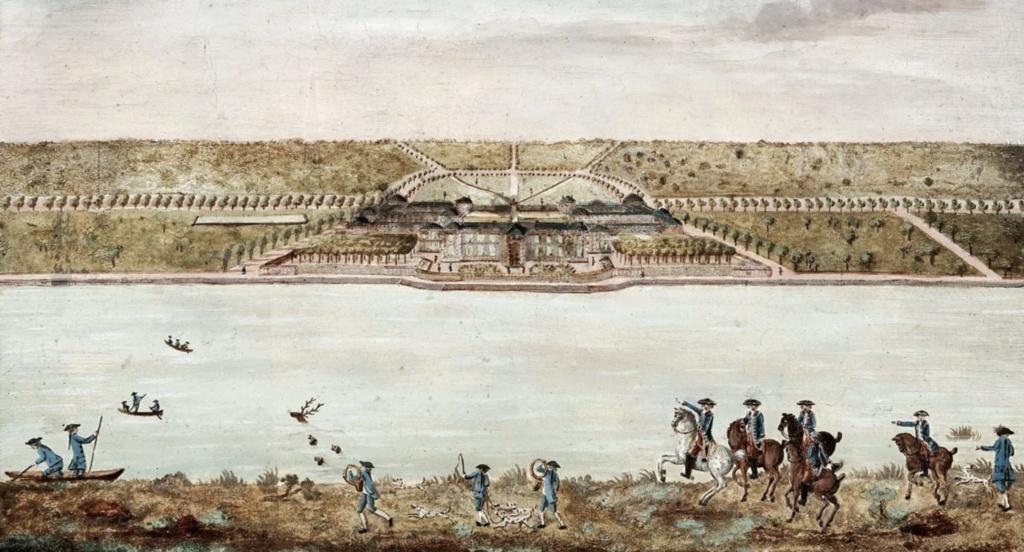 Saint-Hubert, château royal délaissé par Louis XVI Capt1636