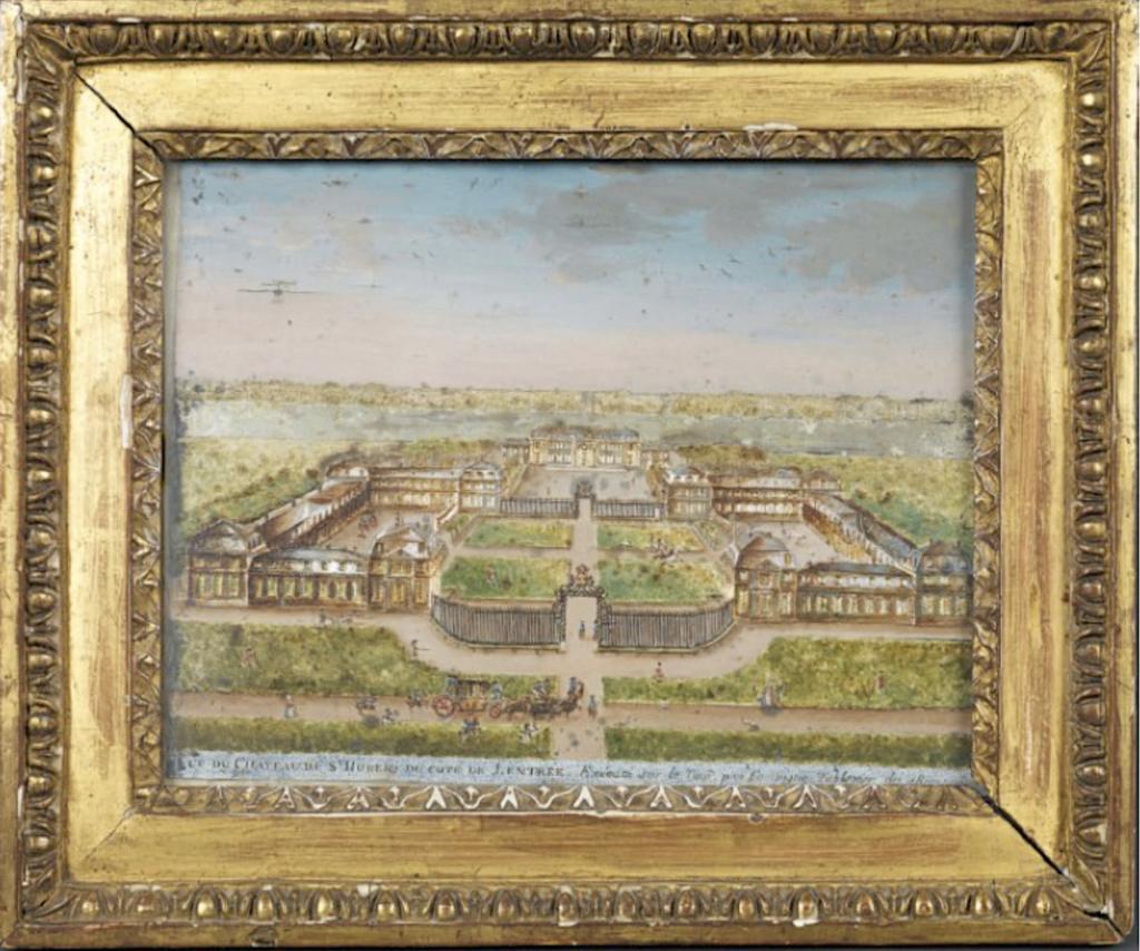 Saint-Hubert, château royal délaissé par Louis XVI Capt1639