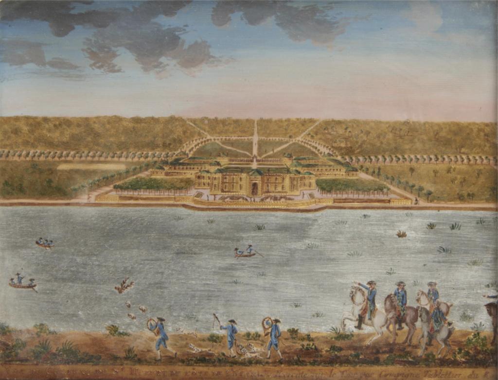 Saint-Hubert, château royal délaissé par Louis XVI Capt1640
