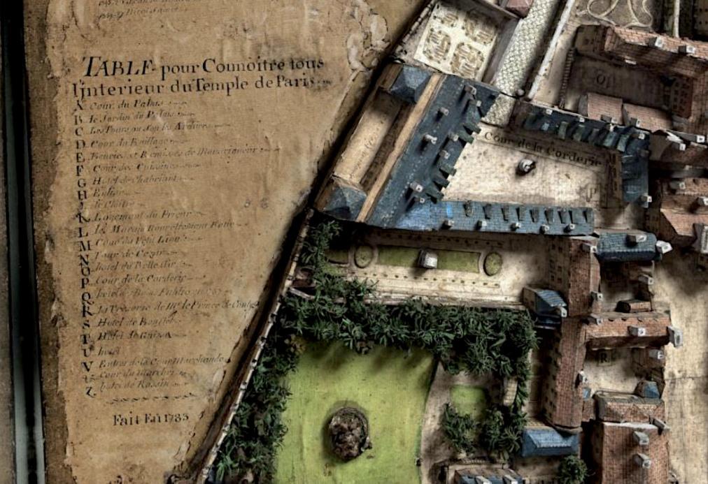 L'enclos du Temple au XVIIIe siècle - Page 3 Capt1711
