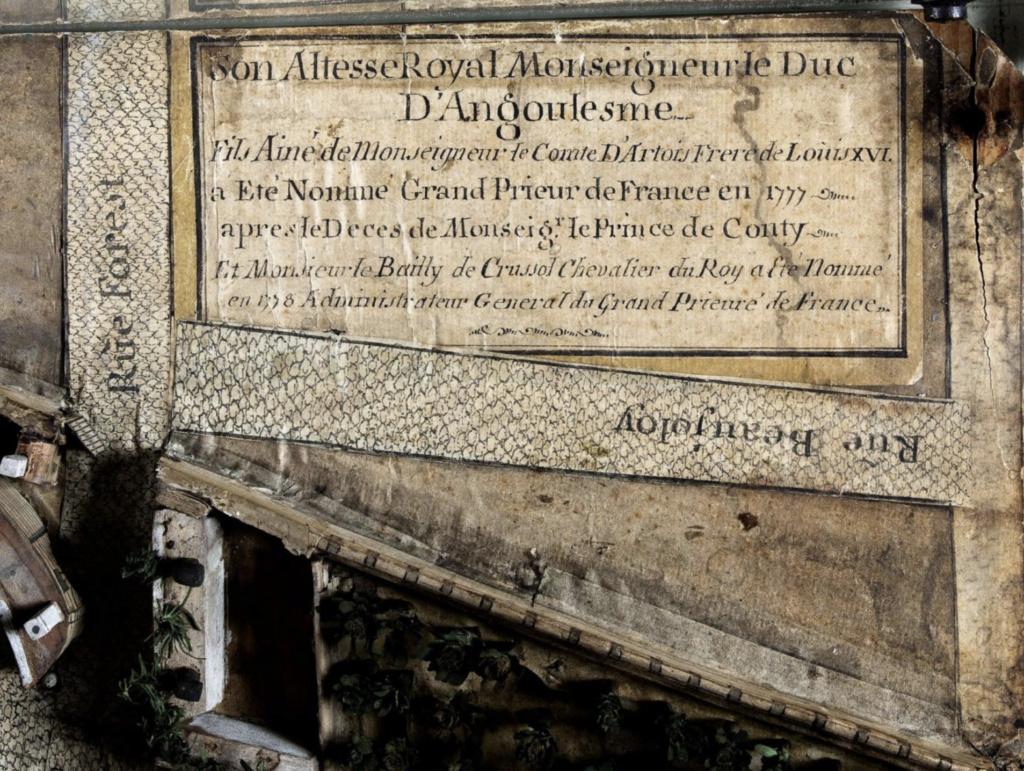 L'enclos du Temple au XVIIIe siècle - Page 3 Capt1713