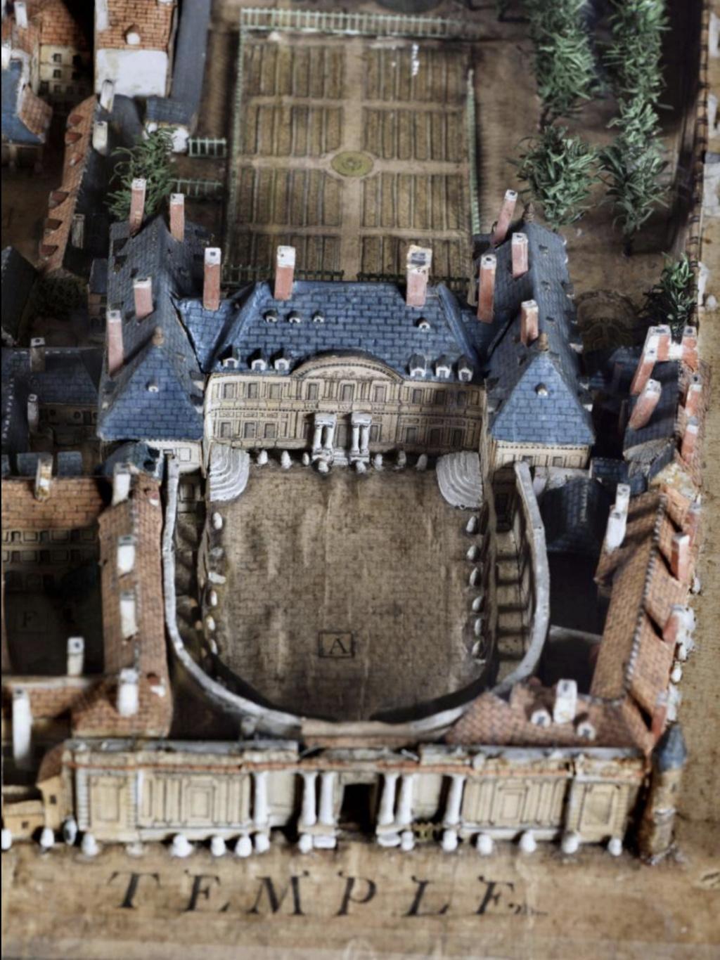 L'enclos du Temple au XVIIIe siècle - Page 3 Capt1721