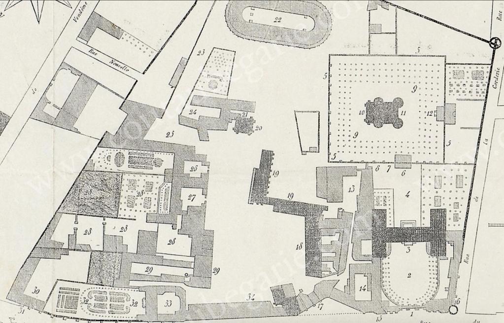 L'enclos du Temple au XVIIIe siècle - Page 3 Capt1766