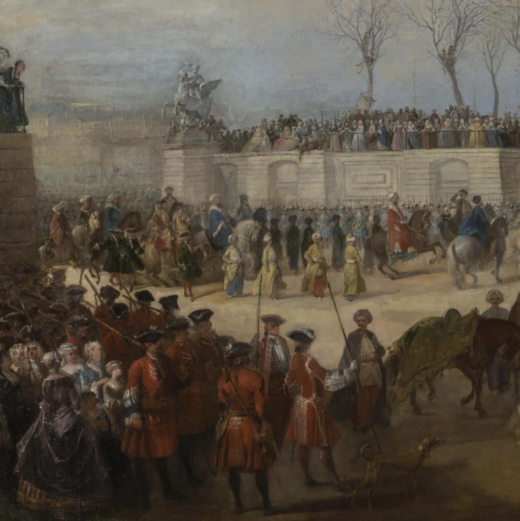 Yirmisekiz-Mehmed Çelebi Efendi - Ambassadeur de la Sublime Porte en visite en France de 1720 à 1721 Capt1775