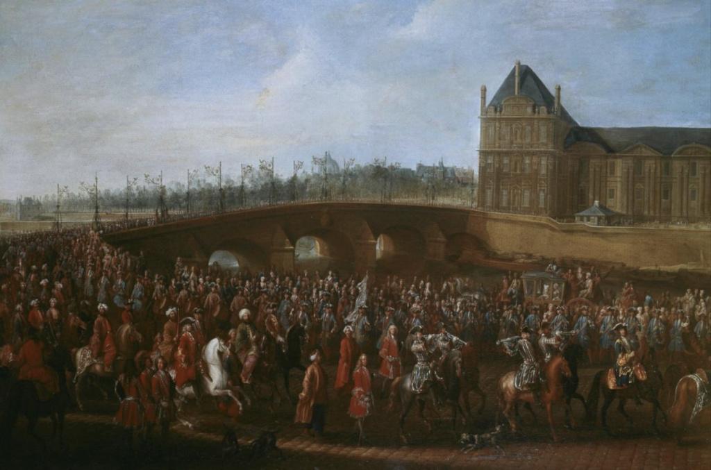 Yirmisekiz-Mehmed Çelebi Efendi - Ambassadeur de la Sublime Porte en visite en France de 1720 à 1721 Capt1777