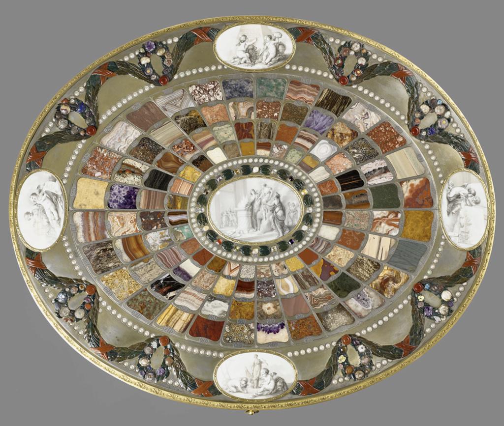 Neuber, orfèvre de la Cour de Saxe Capt1792