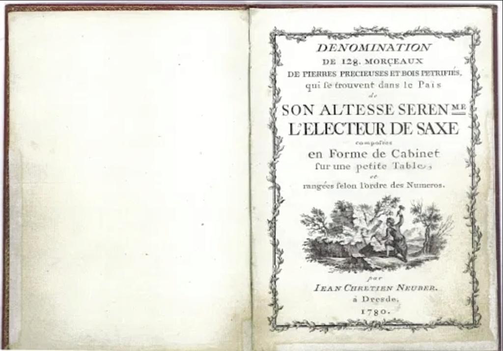 Neuber, orfèvre de la Cour de Saxe Capt1793