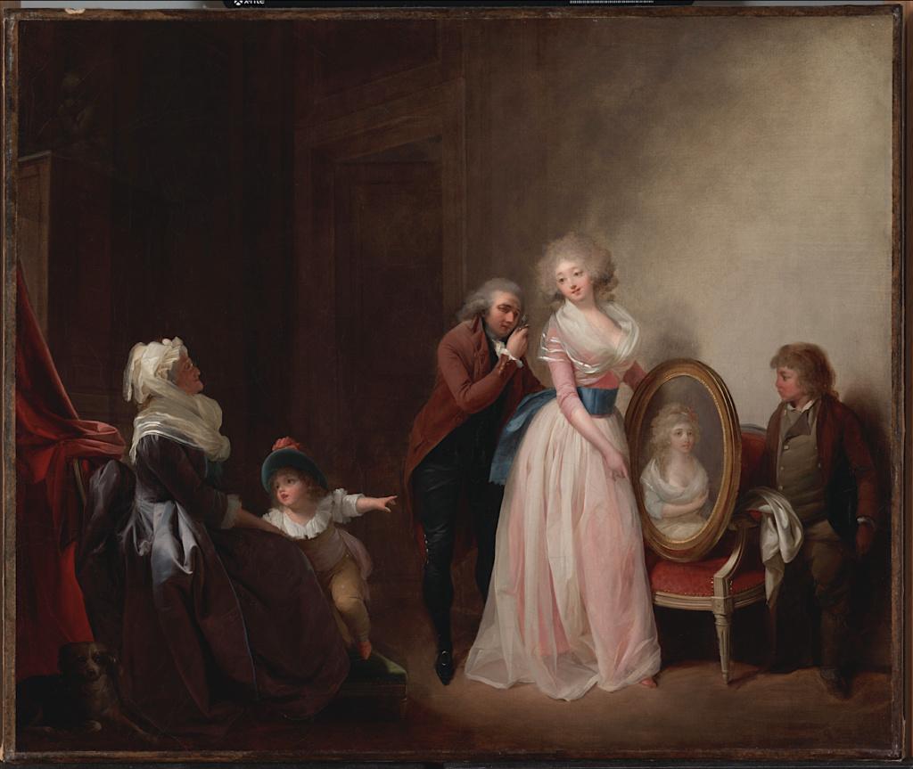 Louis-Léopold Boilly : peintre de la société parisienne de Louis XVI à Louis-Philippe Capt1843
