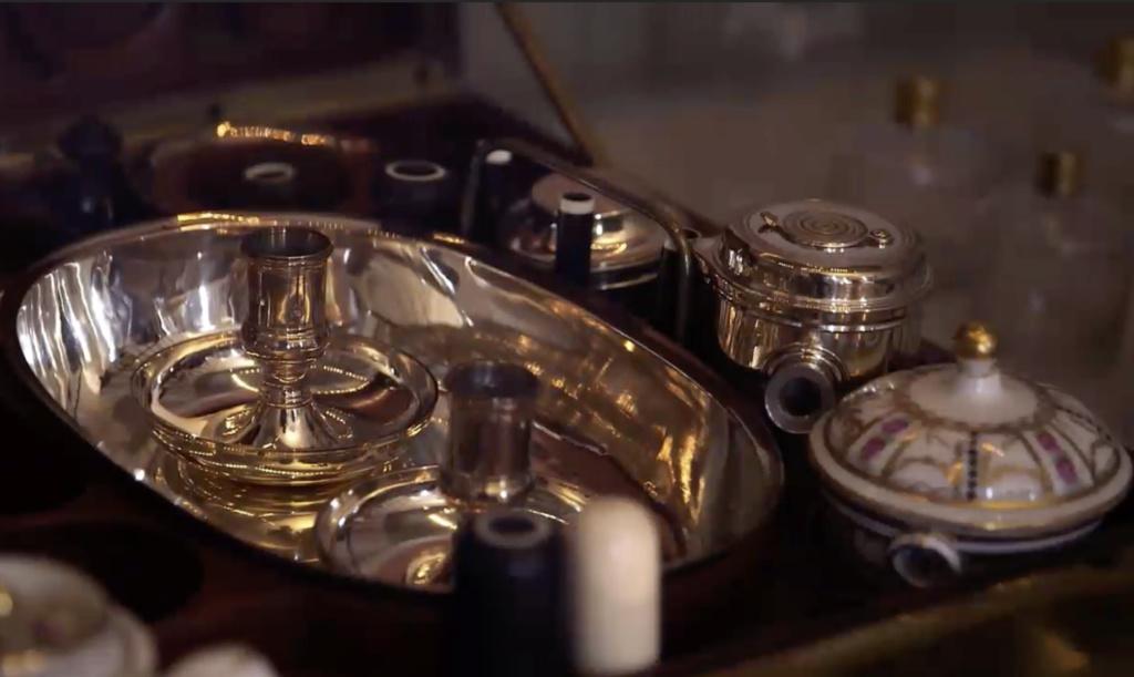 Nécessaires - Les nécessaires de voyage de Marie-Antoinette Capt1926