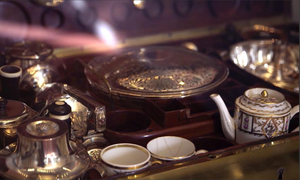 Nécessaires - Les nécessaires de voyage de Marie-Antoinette Capt1927