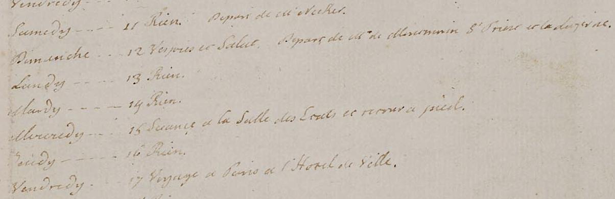 Le Journal du roi Louis XVI et ses Reflexions sur ses entretiens avec Mr le Duc de la Vauguyon Capt1947