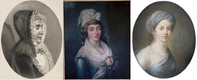 Trois Femmes (Mmes du Deffand, Vigée-Lebrun, et Roland). De Cécile Berly Capt2014
