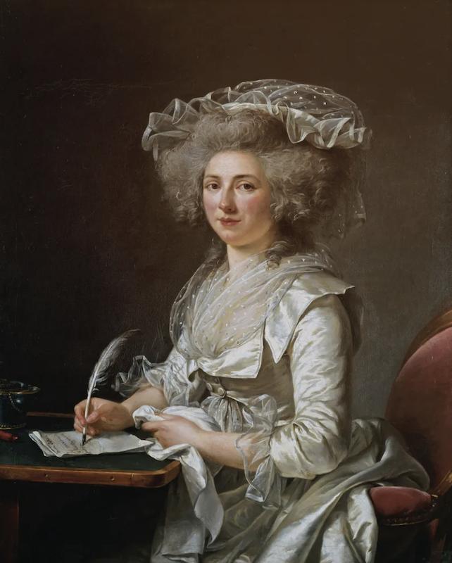 Trois Femmes (Mmes du Deffand, Vigée-Lebrun, et Roland). De Cécile Berly Capt2022
