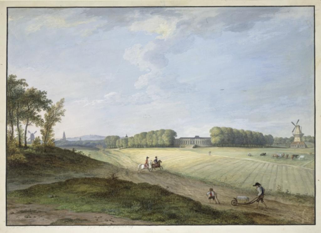 Le palais et le parc de Sans-souci, ou Sanssouci, à Potsdam  Capt2041