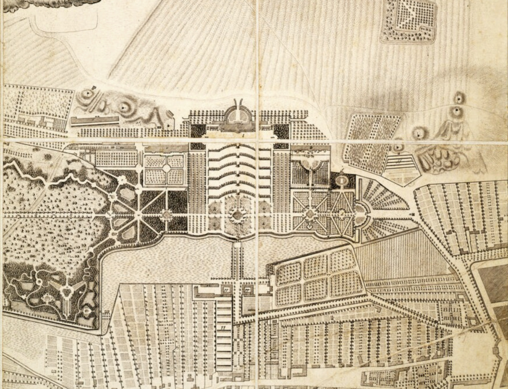 Le palais et le parc de Sans-souci, ou Sanssouci, à Potsdam  Capt2042