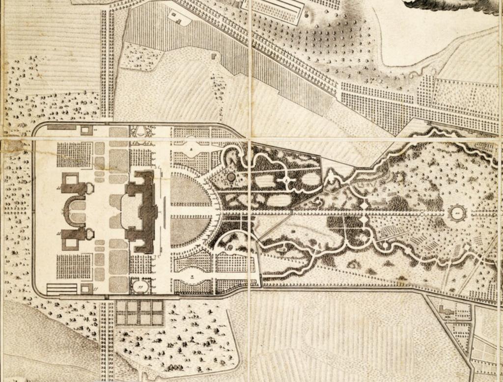 Le palais et le parc de Sans-souci, ou Sanssouci, à Potsdam  Capt2043