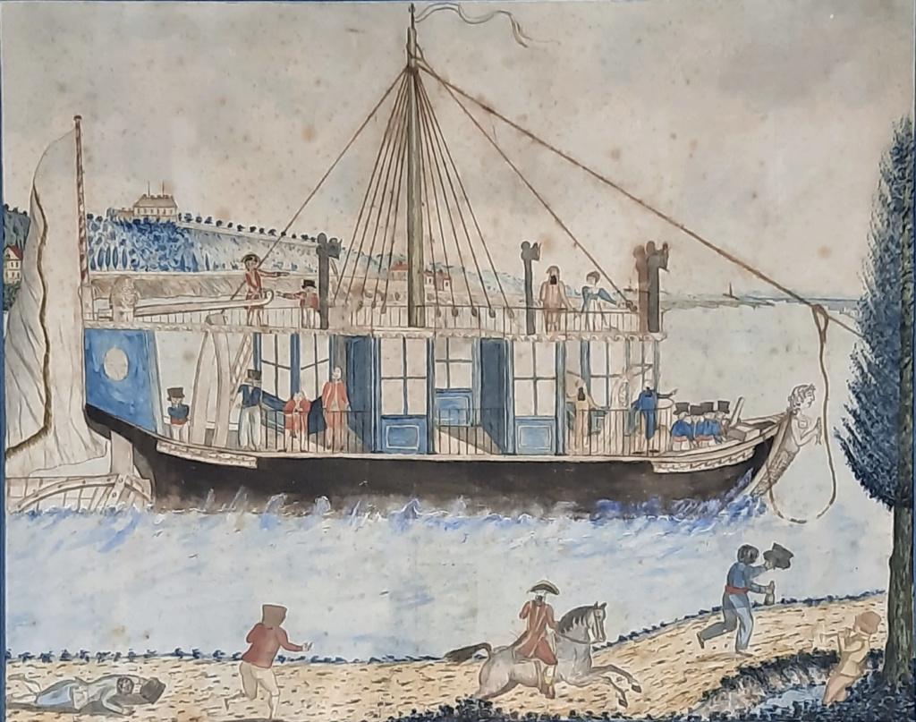 La Sirène : le bateau ou yacht royal de Marie-Antoinette Capt2048
