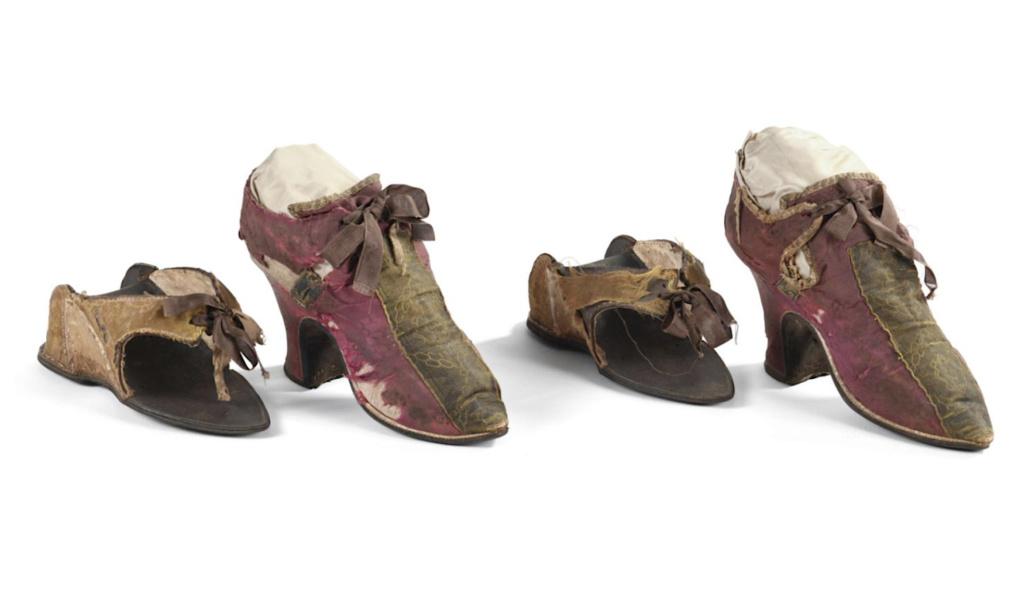 Chaussures et souliers du XVIIIe siècle Capt2069