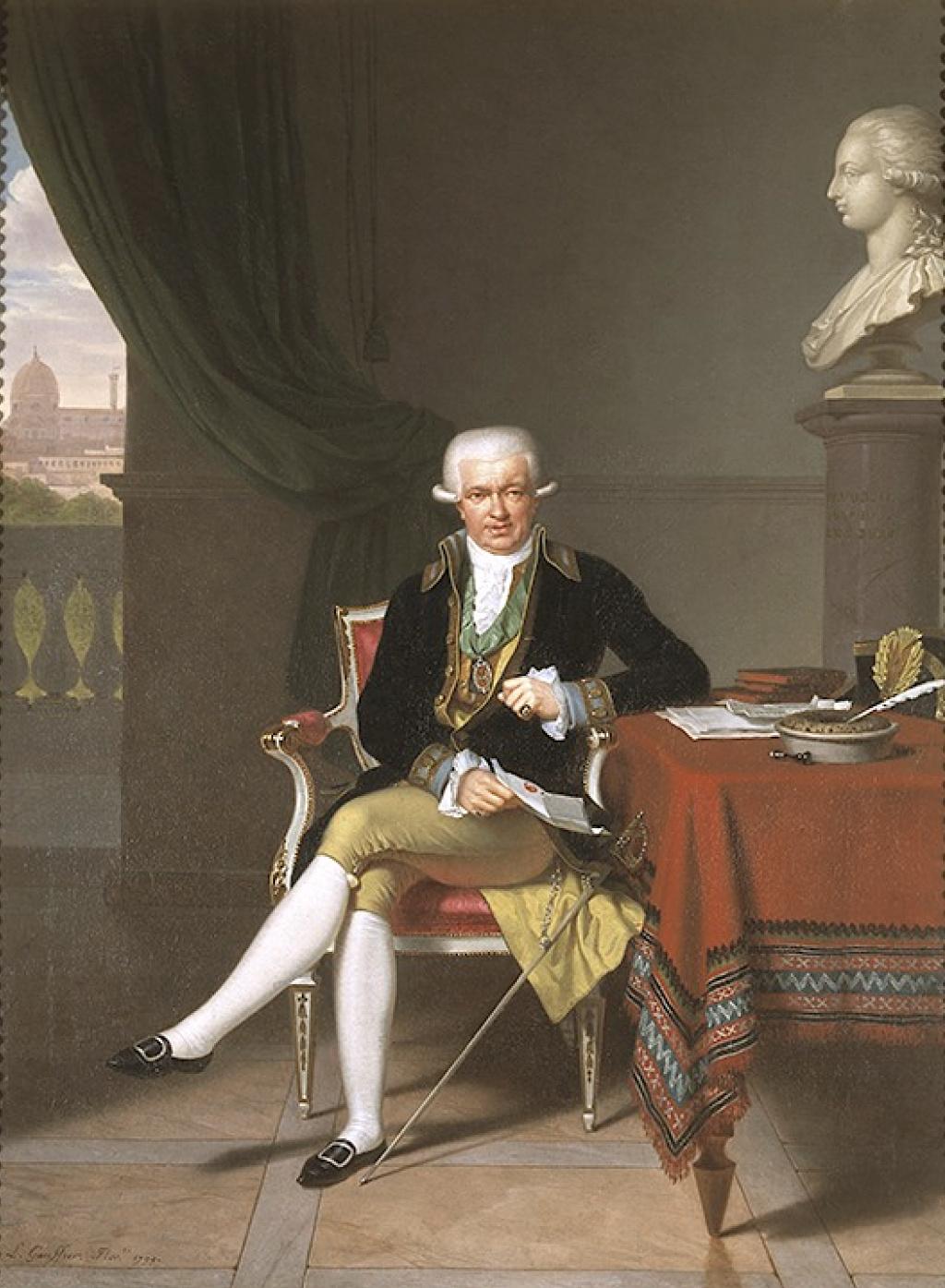 Louis Gauffier (1762-1801), peintre français installé en Italie Capt2112