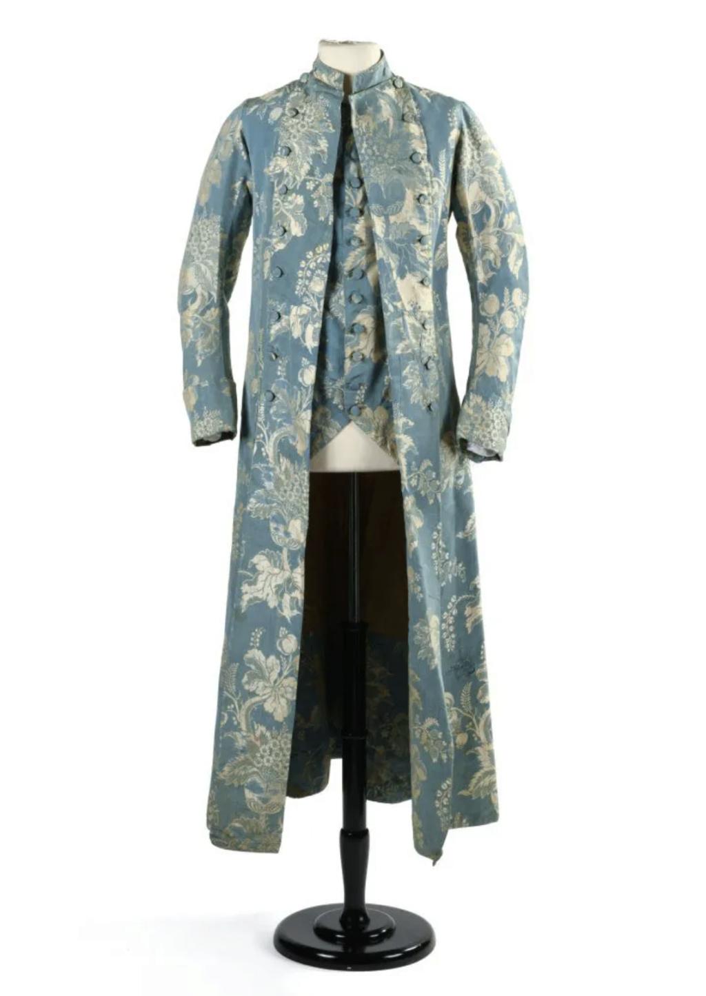 Manteau d'intérieur et robe de chambre pour les hommes au XVIIIe siècle - Page 2 Capt2133