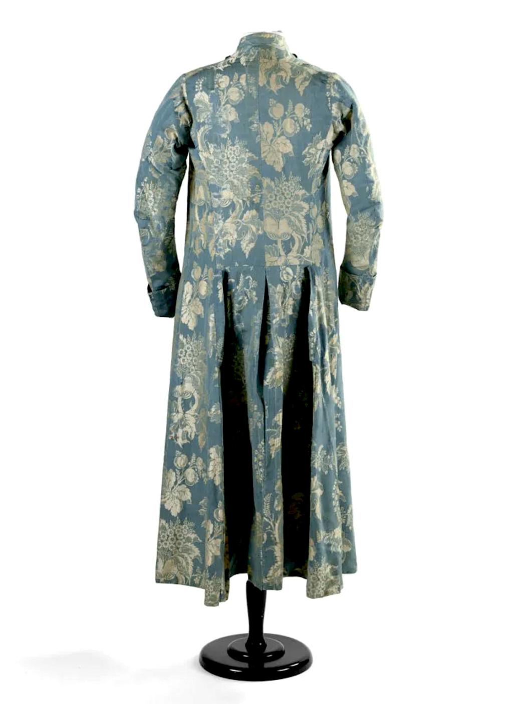 Manteau d'intérieur et robe de chambre pour les hommes au XVIIIe siècle - Page 2 Capt2134