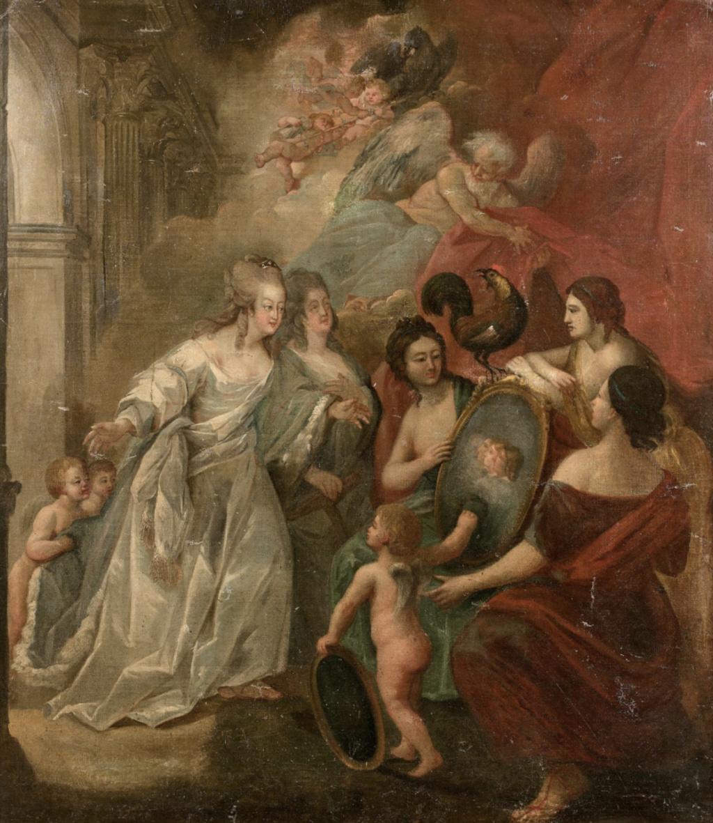 Portraits de Marie-Antoinette attribués aux Gautier Dagoty (ou d'après). - Page 3 Capt2166