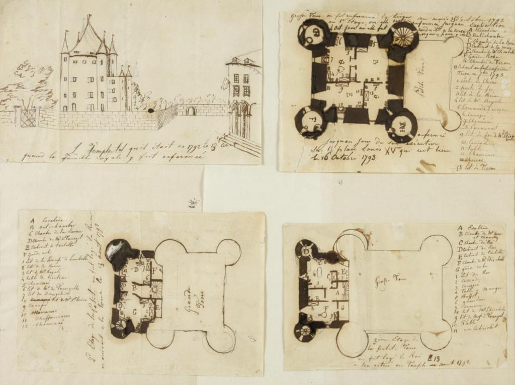 La famille royale à la prison du Temple : plans et aménagements - Page 8 Capt2235
