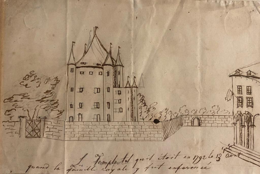 La famille royale à la prison du Temple : plans et aménagements - Page 8 Capt2236