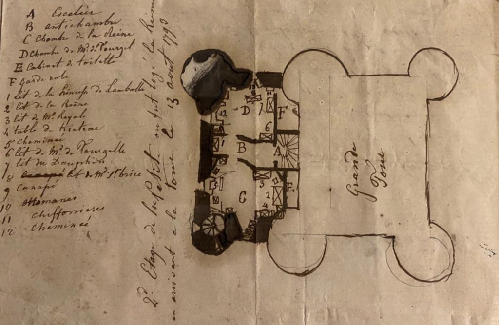 La famille royale à la prison du Temple : plans et aménagements - Page 8 Capt2237