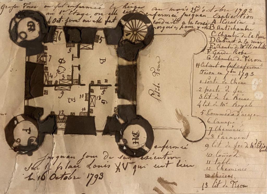La famille royale à la prison du Temple : plans et aménagements - Page 8 Capt2238