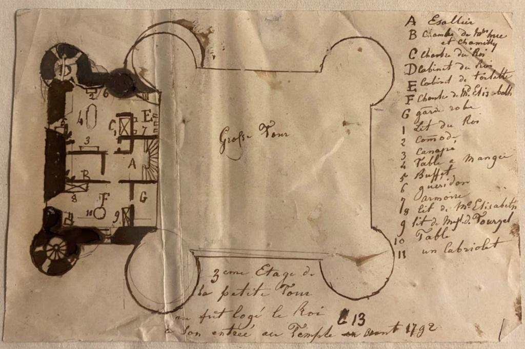 La famille royale à la prison du Temple : plans et aménagements - Page 8 Capt2239