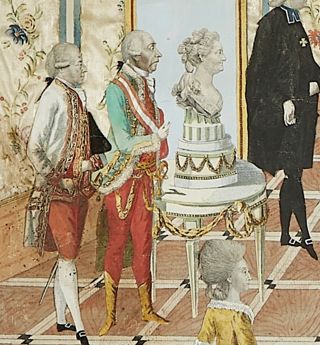 Le voyage en Europe du comte et de la comtesse du Nord : le tsarévitch Paul et son épouse. - Page 2 Capt2299
