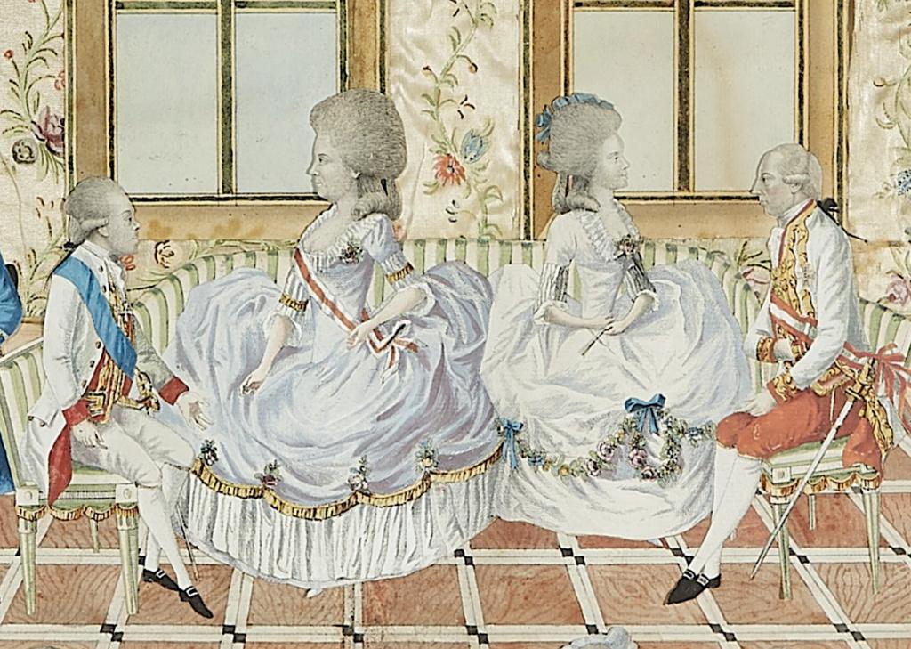 Le voyage en Europe du comte et de la comtesse du Nord : le tsarévitch Paul et son épouse. - Page 2 Capt2300