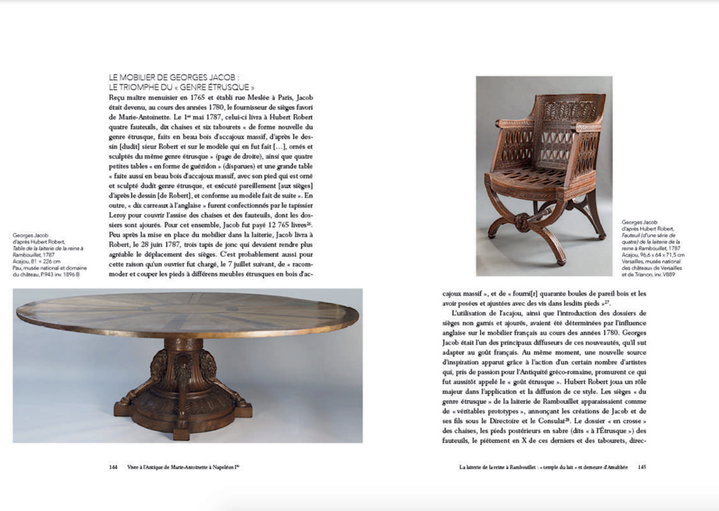 """Exposition """" Vivre à l'antique, de Marie-Antoinette à Napoléon Ier """" - Château de Rambouillet Capt2380"""