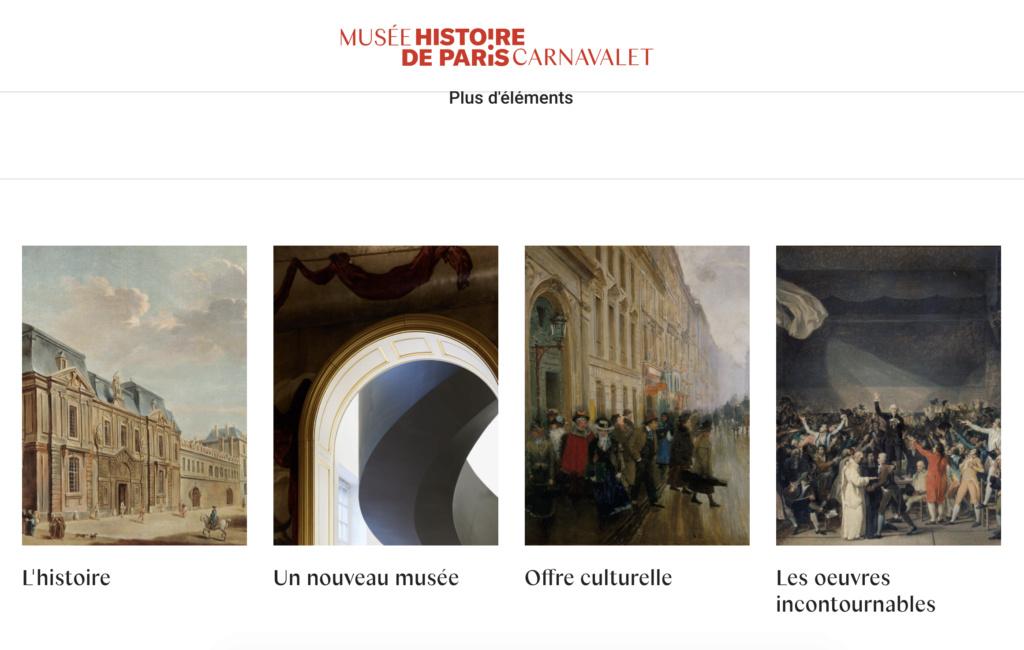 Le Musée Carnavalet, Paris. - Page 5 Capt2404