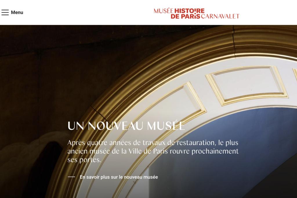 Le Musée Carnavalet, Paris. - Page 5 Capt2405