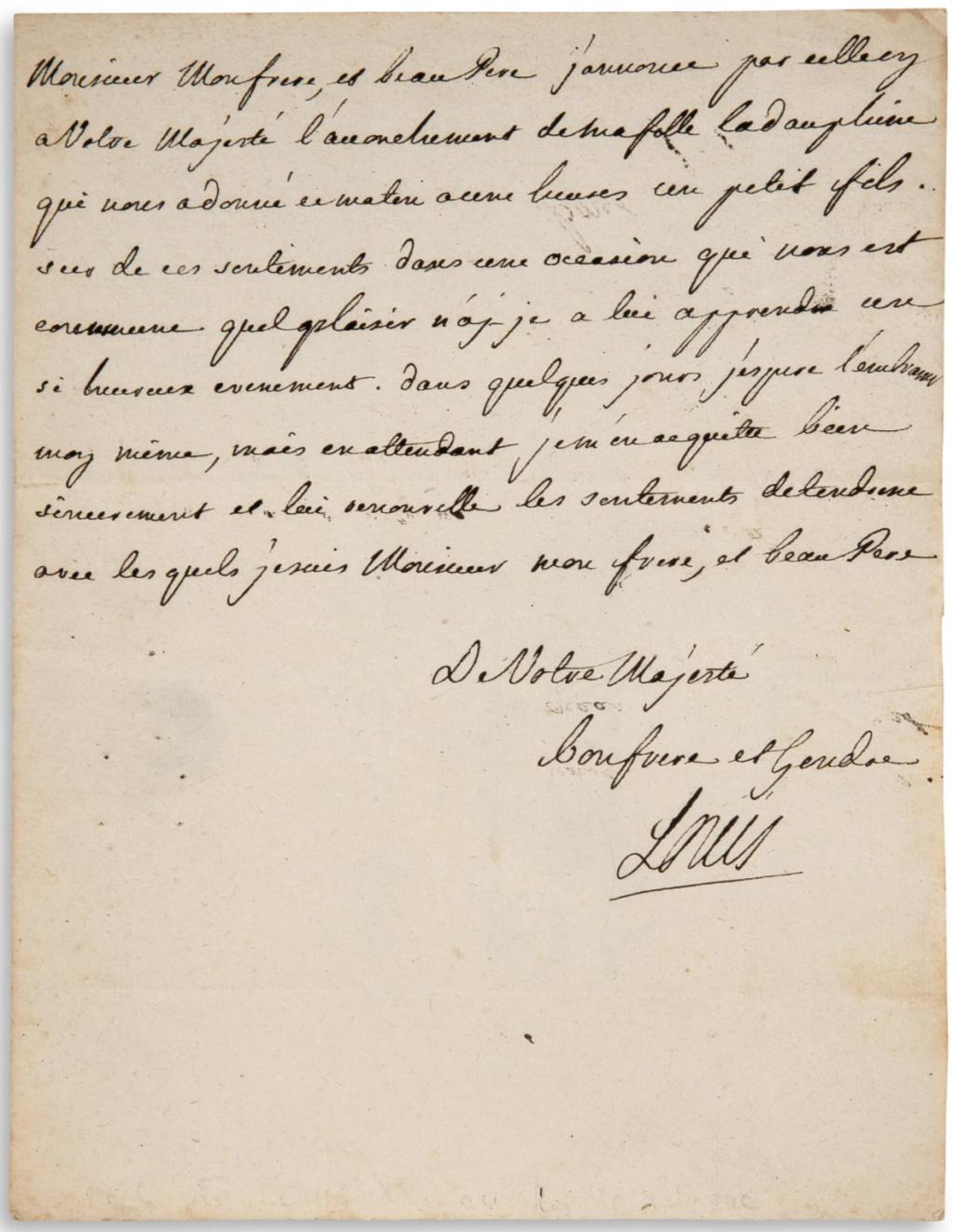 Louis-Stanislas, comte de Provence, et futur roi Louis XVIII - Page 9 Capt2406