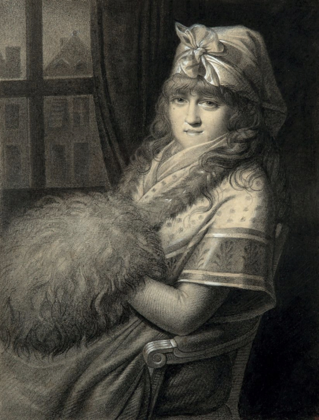 Galerie de portraits : Le manchon au XVIIIe siècle  - Page 3 Capt2416