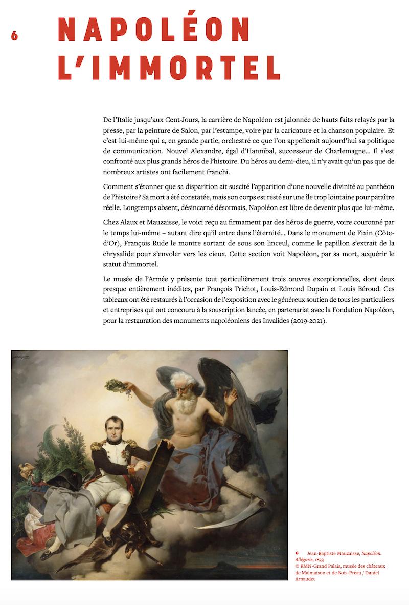 2021, année Napoléon. Bicentenaire de la mort de l'empereur Napoléon Ier.  - Page 2 Capt2443