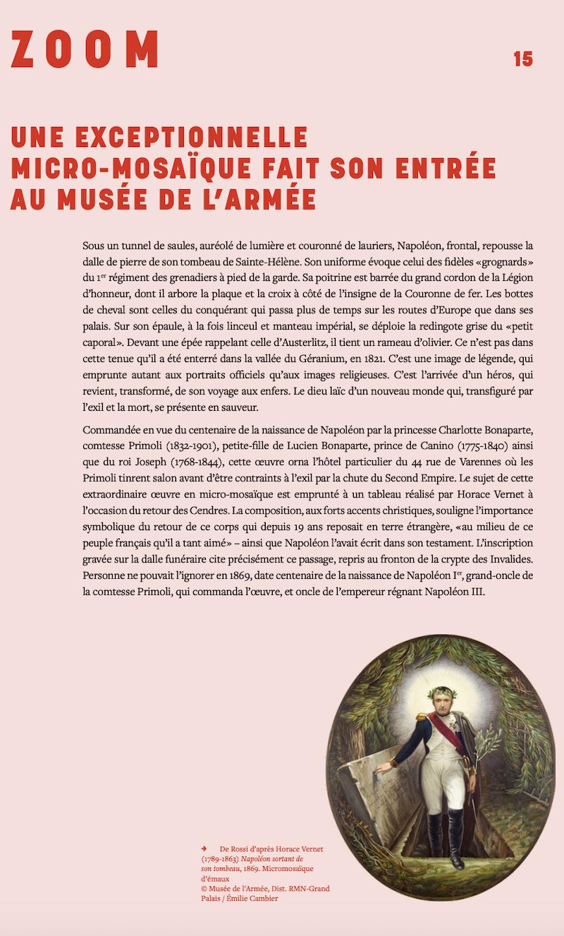 2021, année Napoléon. Bicentenaire de la mort de l'empereur Napoléon Ier.  - Page 2 Capt2449