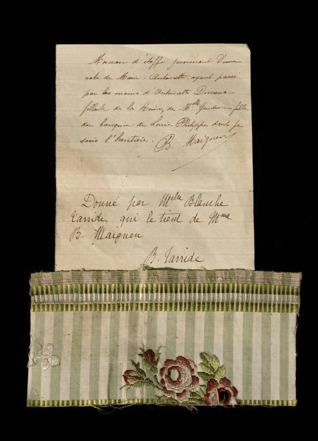 Fragments des robes de Marie-Antoinette - Page 3 Capt2457