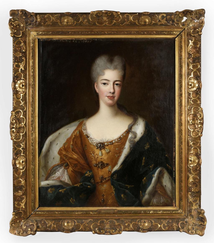Élisabeth-Charlotte d'Orléans, duchesse de Lorraine et de Bar, grand-mère paternelle de Marie-Antoinette Capt2511