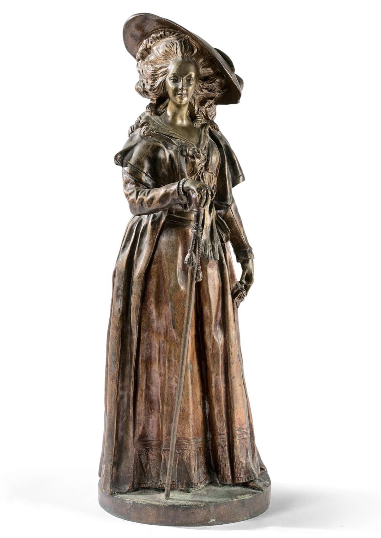 Marie-Antoinette par Jacques Boéro, statues et statuettes Capt2547