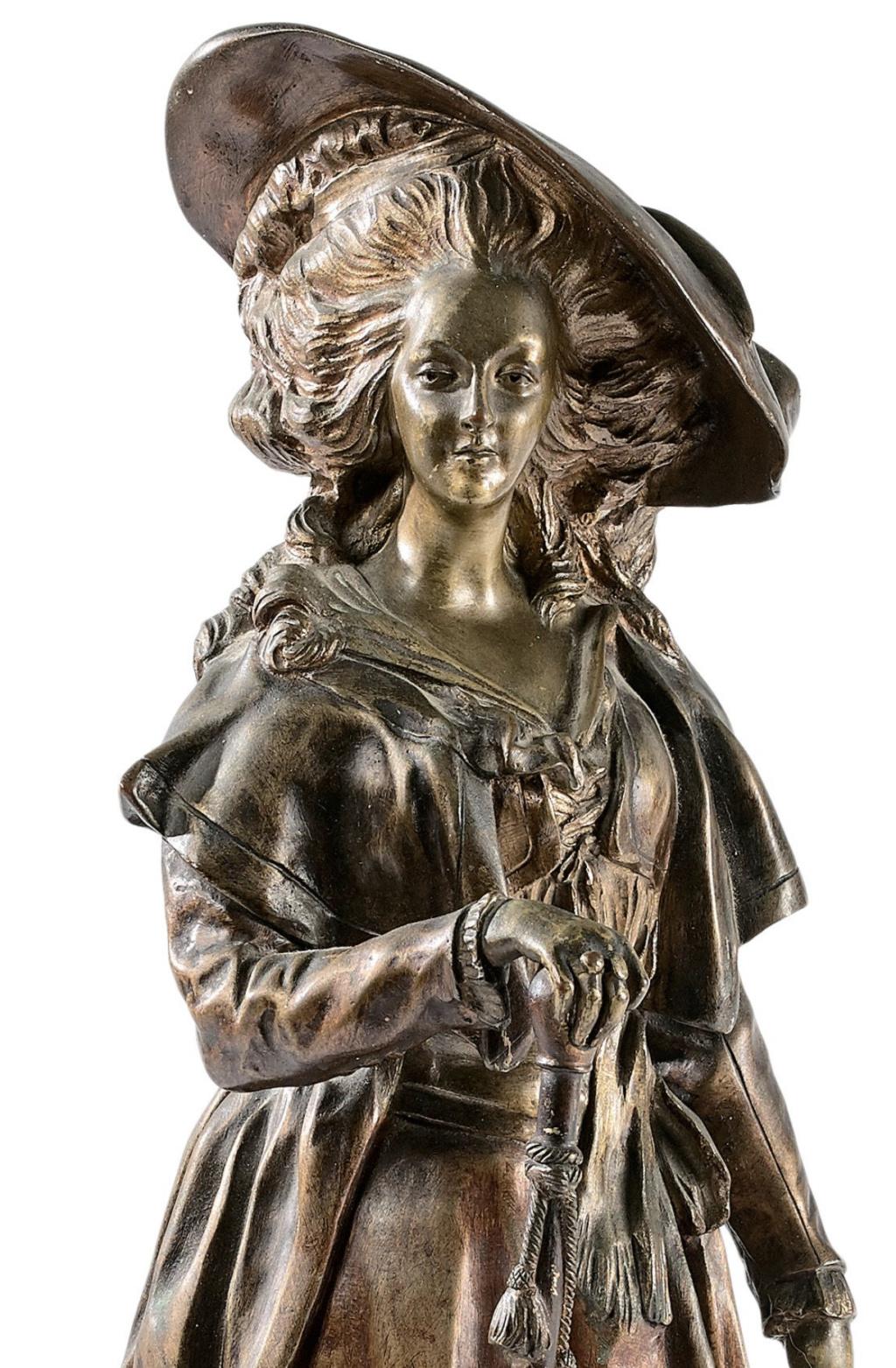Marie-Antoinette par Jacques Boéro, statues et statuettes Capt2548