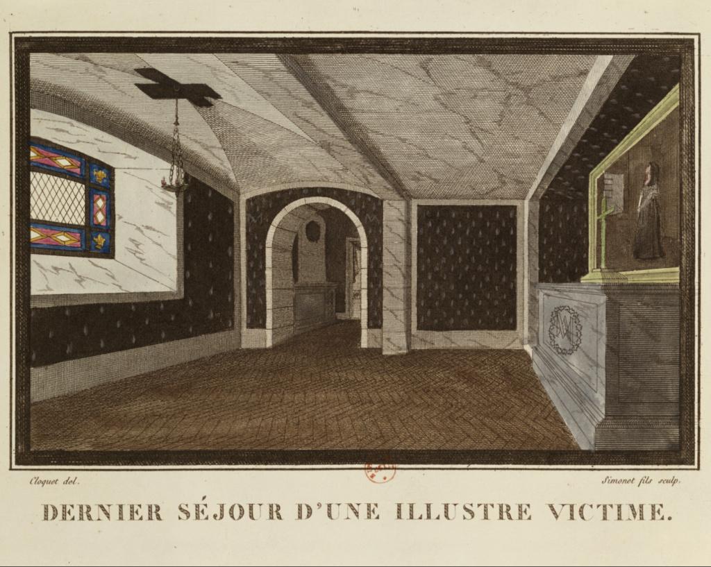 Portraits de Marie-Antoinette dans les prisons du Temple et de la Conciergerie - Page 4 Capt2549